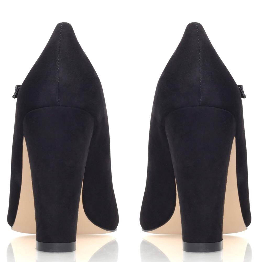2b49ff820fd Carvela Kurt Geiger Karol Block Heeled Mary Jane Shoes in Black - Lyst