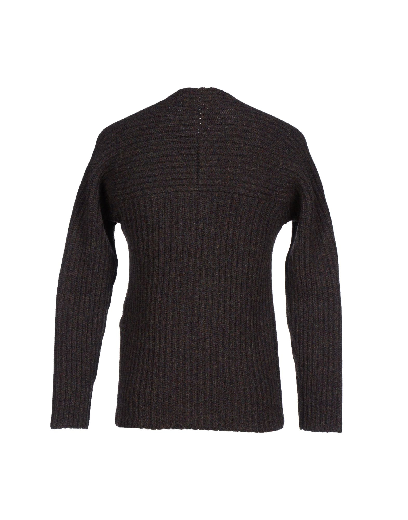 Grey Daniele Alessandrini Sweater Dark Brown 5 on oscar de la renta sweater men s brown