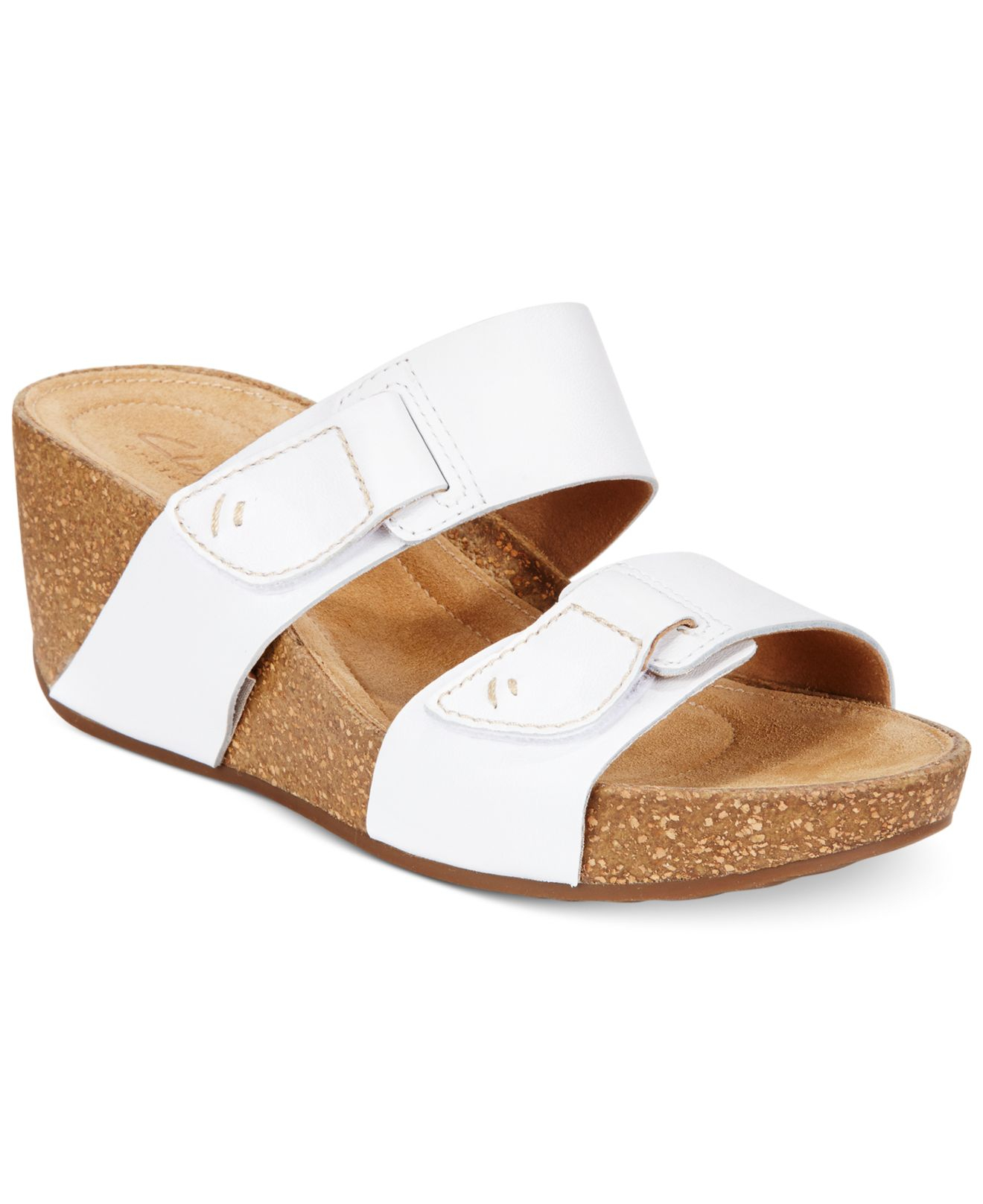 5a04485185f Lyst - Clarks Artisan Women s Temira East Platform Wedge Sandals in ...