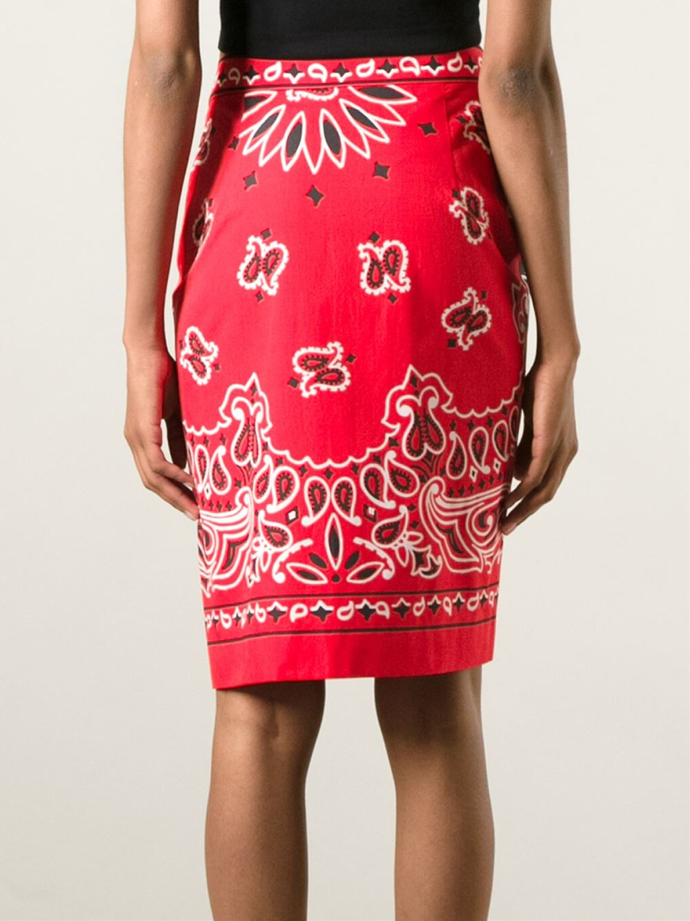 Bandana Print Skirt 28
