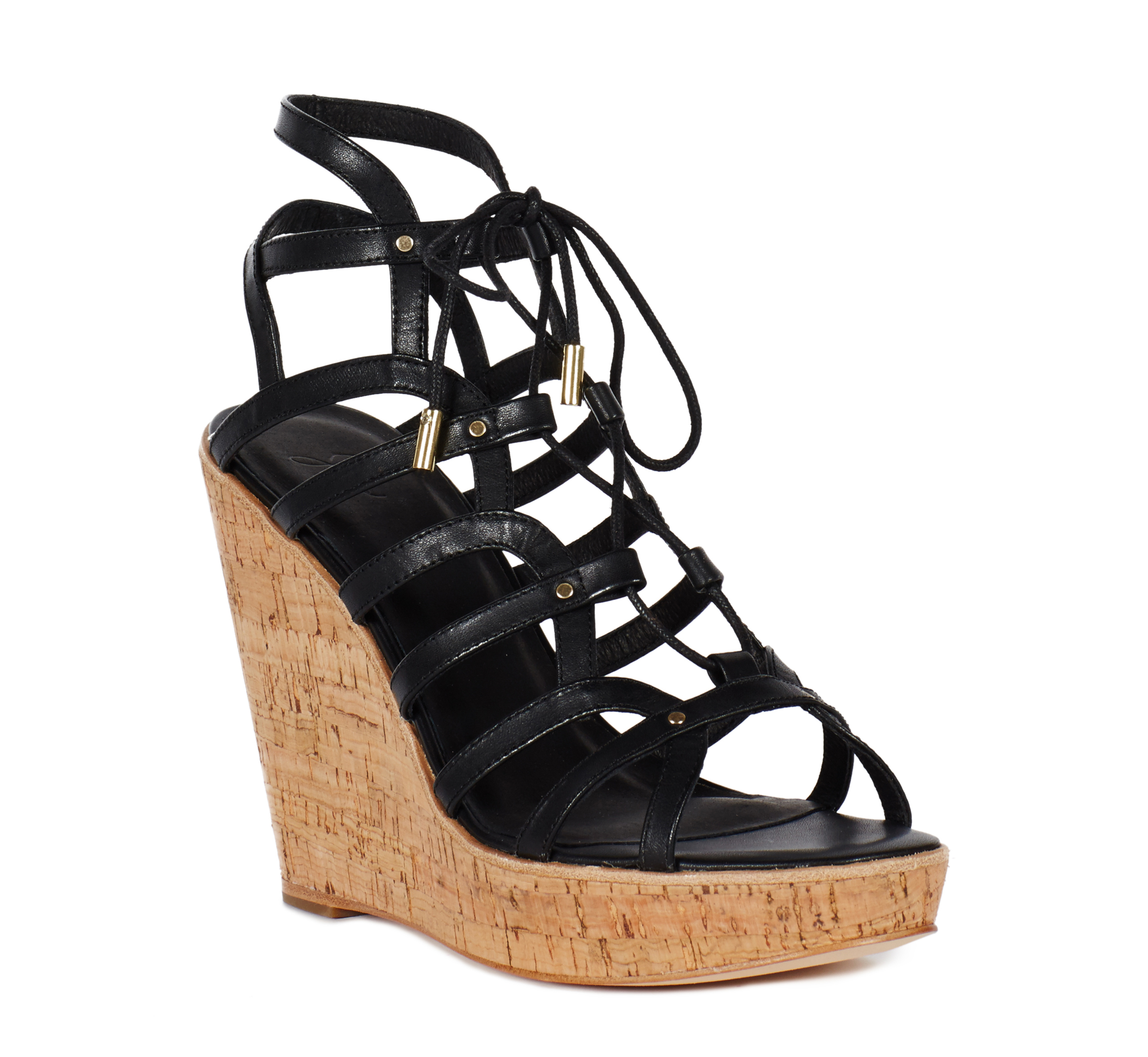 f61eaa4b520e Lyst - Joie Larissa Wedge Sandals in Black