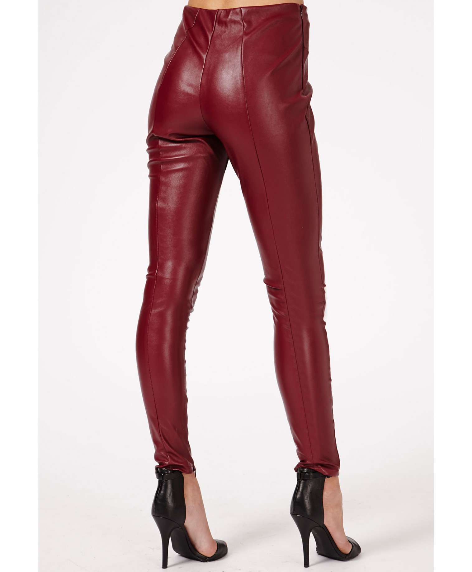 Красный брюки