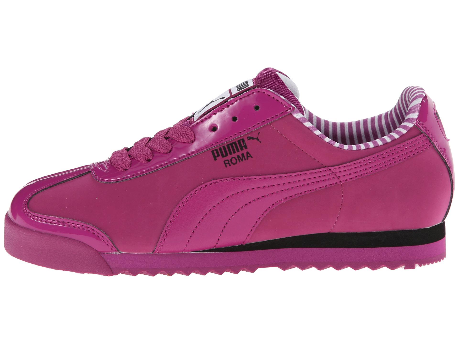 a9eaae0da Lyst - PUMA Roma Nbk Patent in Pink