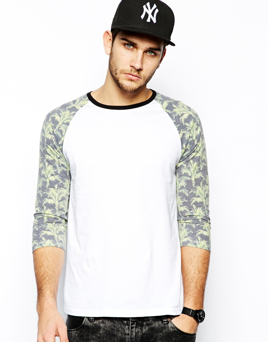 Mens 3 4 sleeve shirts t shirt design collections for Print one t shirt