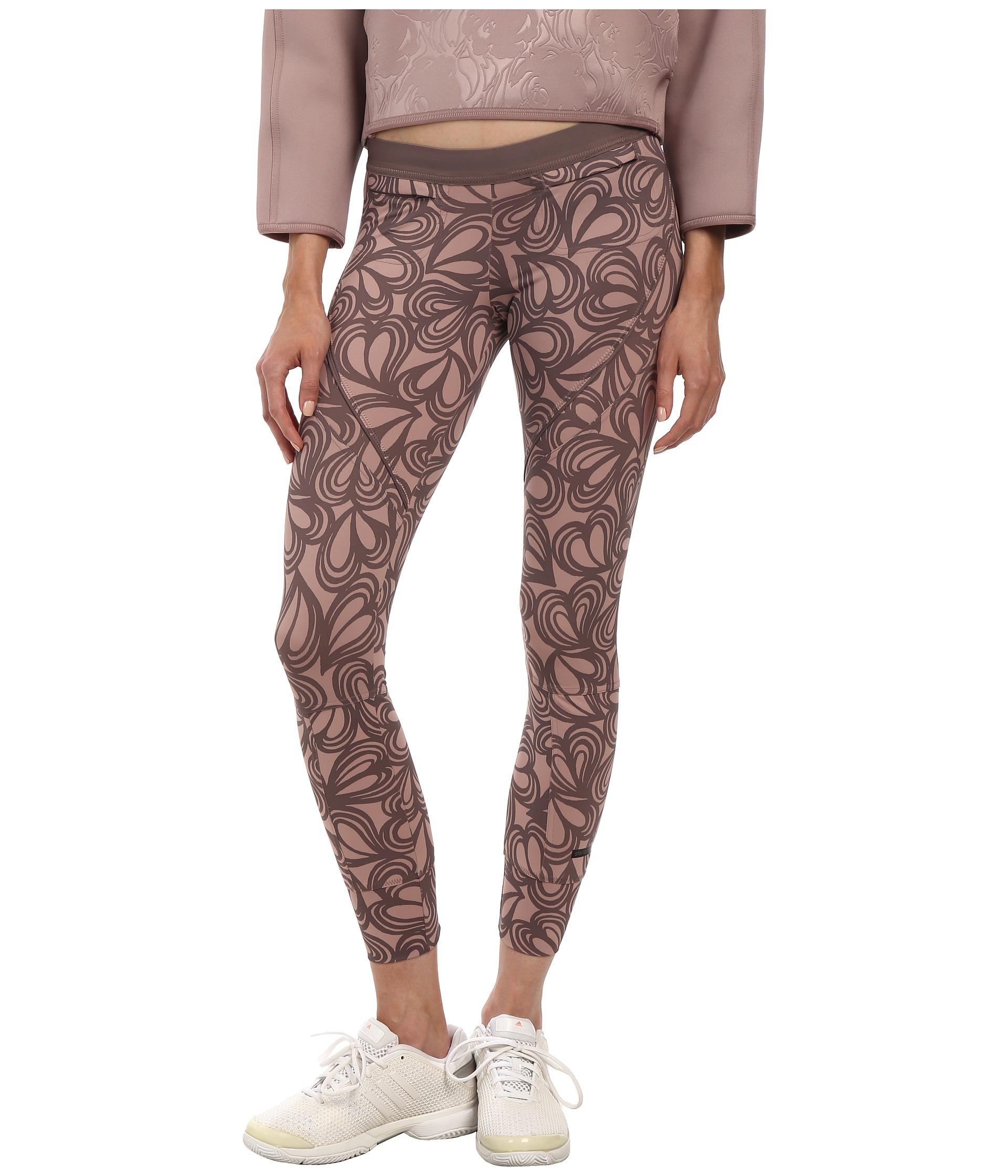 1beb1987e9f63 adidas By Stella McCartney Studio Long Tight Pants S15446 in Pink - Lyst