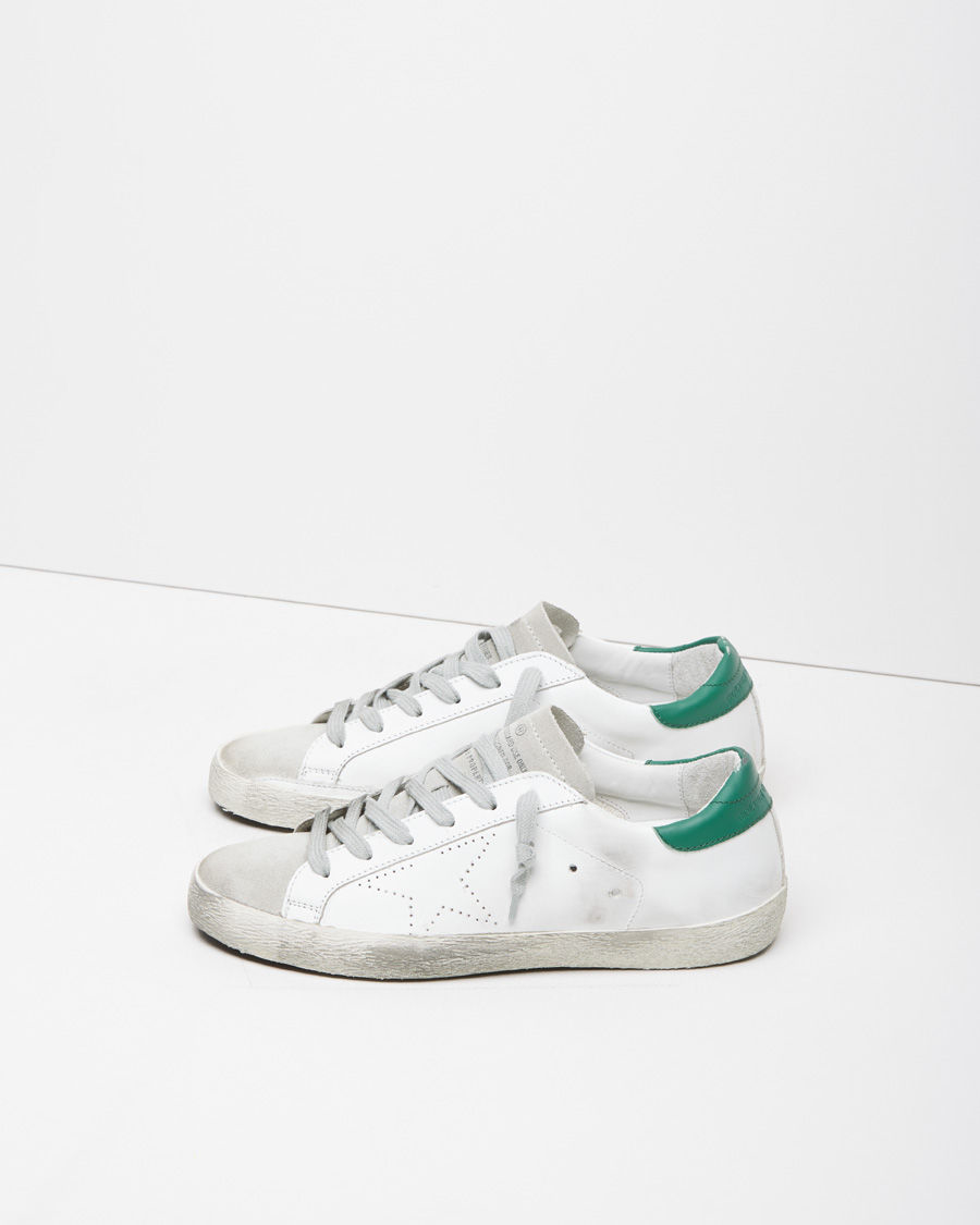 White Superstar animalier sneakers Golden Goose wPDQvNu5KR