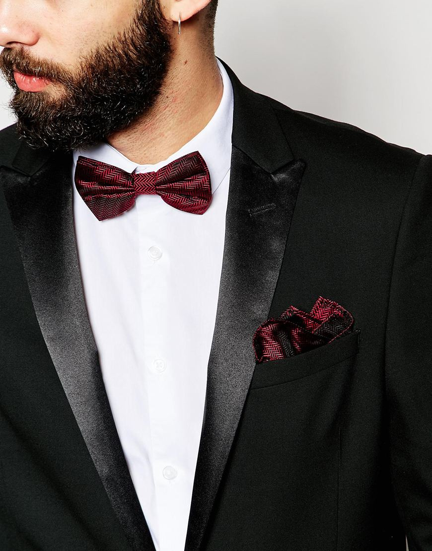 DESIGN silk bow tie in burgundy - Burgundy Asos In China From China Online Affordable Abd9Y01