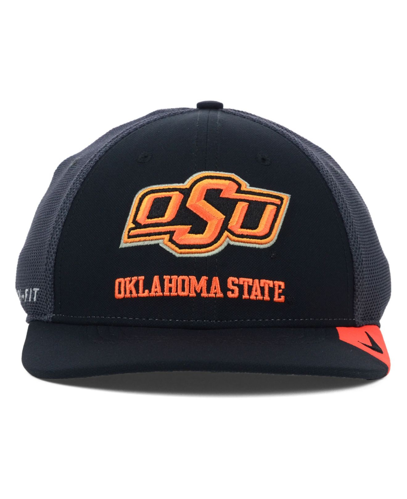 fd669958 ... clearance lyst nike oklahoma state cowboys ncaa conference legacy cap  in black 437de f0d46