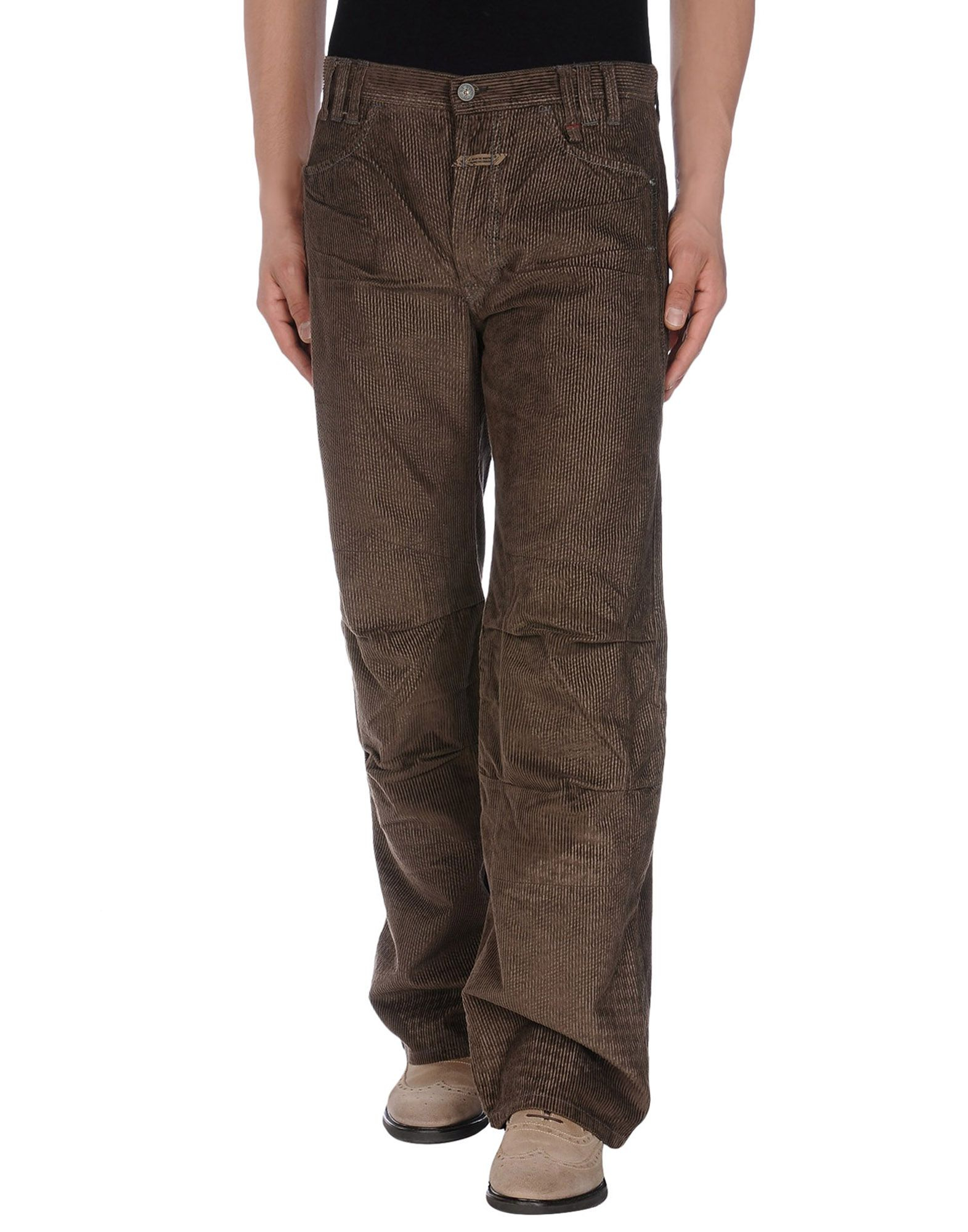 marith x fran ois girbaud casual pants in brown for men dark brown lyst. Black Bedroom Furniture Sets. Home Design Ideas