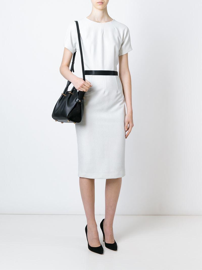 01b06229cf Lyst - Nina Ricci Small  marché  Tote in Black