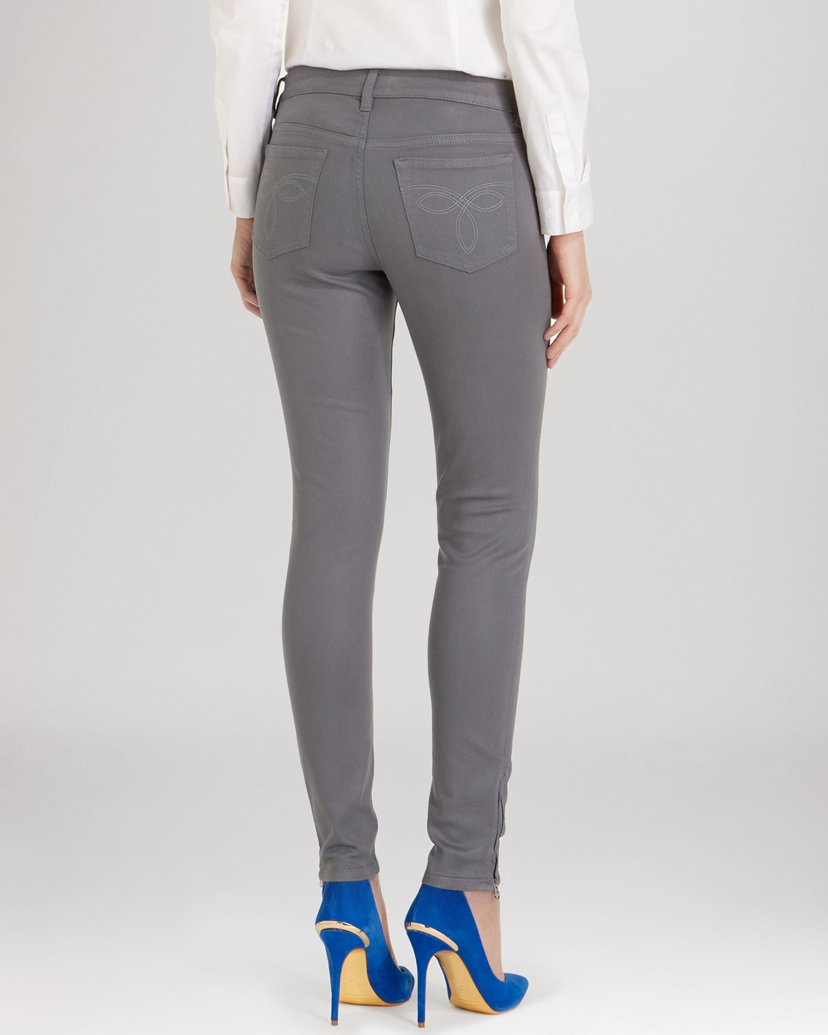 finest selection bb35c 5ce48 ted-baker-mid-grey-anna-waxed-skinny-jeans -in-mid-grey-gray-product-1-705333928-normal.jpeg