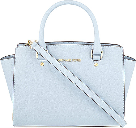 bb78ee84caed65 ... cheap michael michael kors selma medium saffiano leather satchel bag  for 16cdb c904a