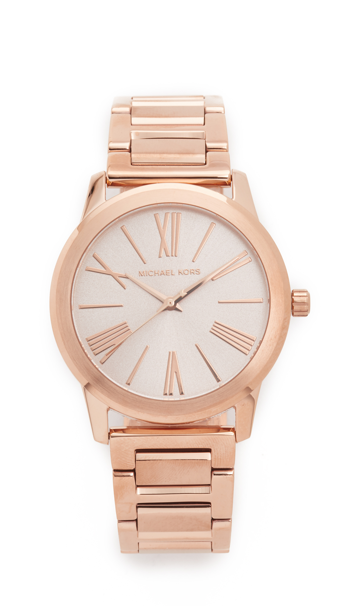 5a54c36db99a Michael Kors Hartman Watch in Pink - Lyst