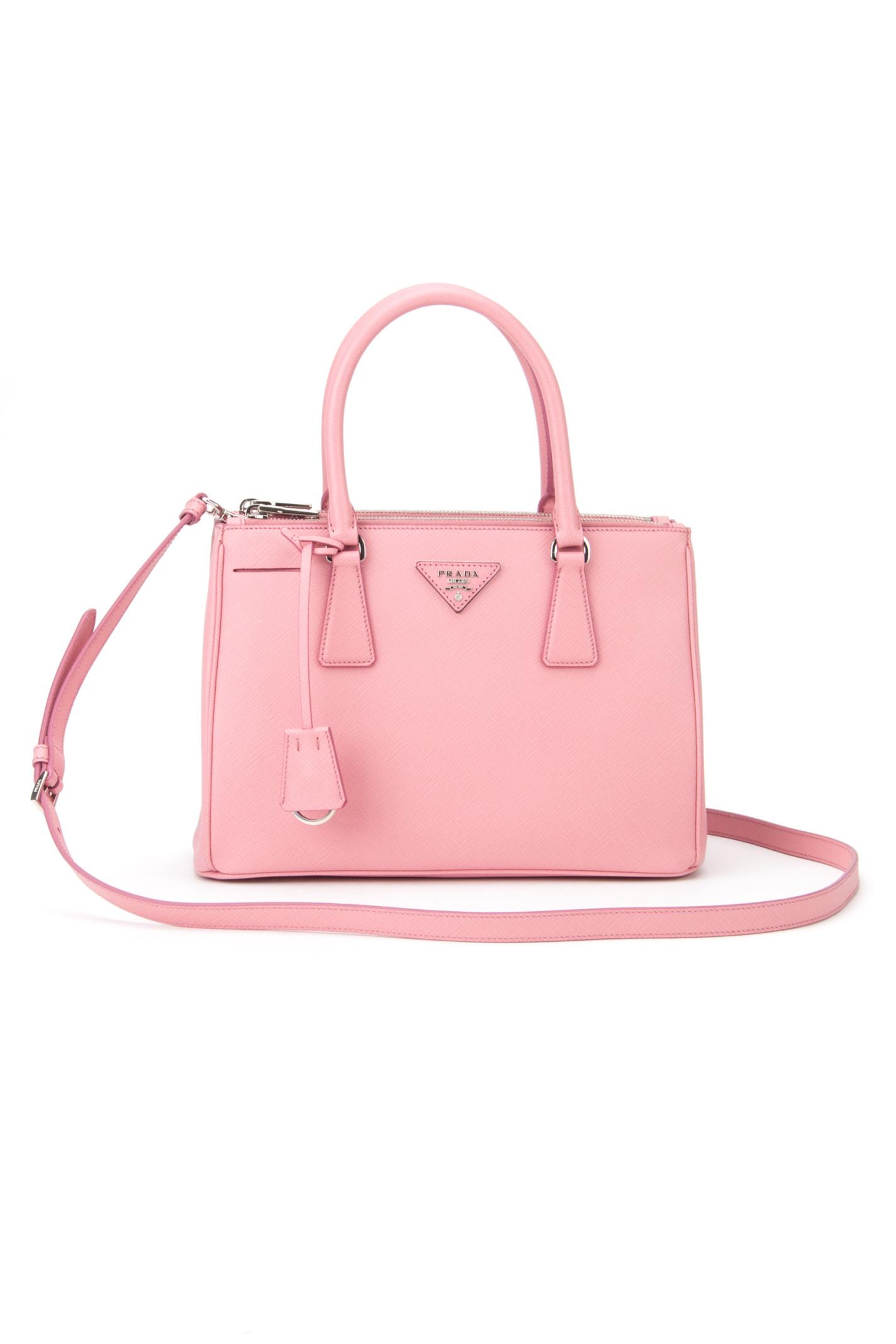 80c77c2e60b9 Prada Saffiano Lux Bag in Pink (PETALO 1)