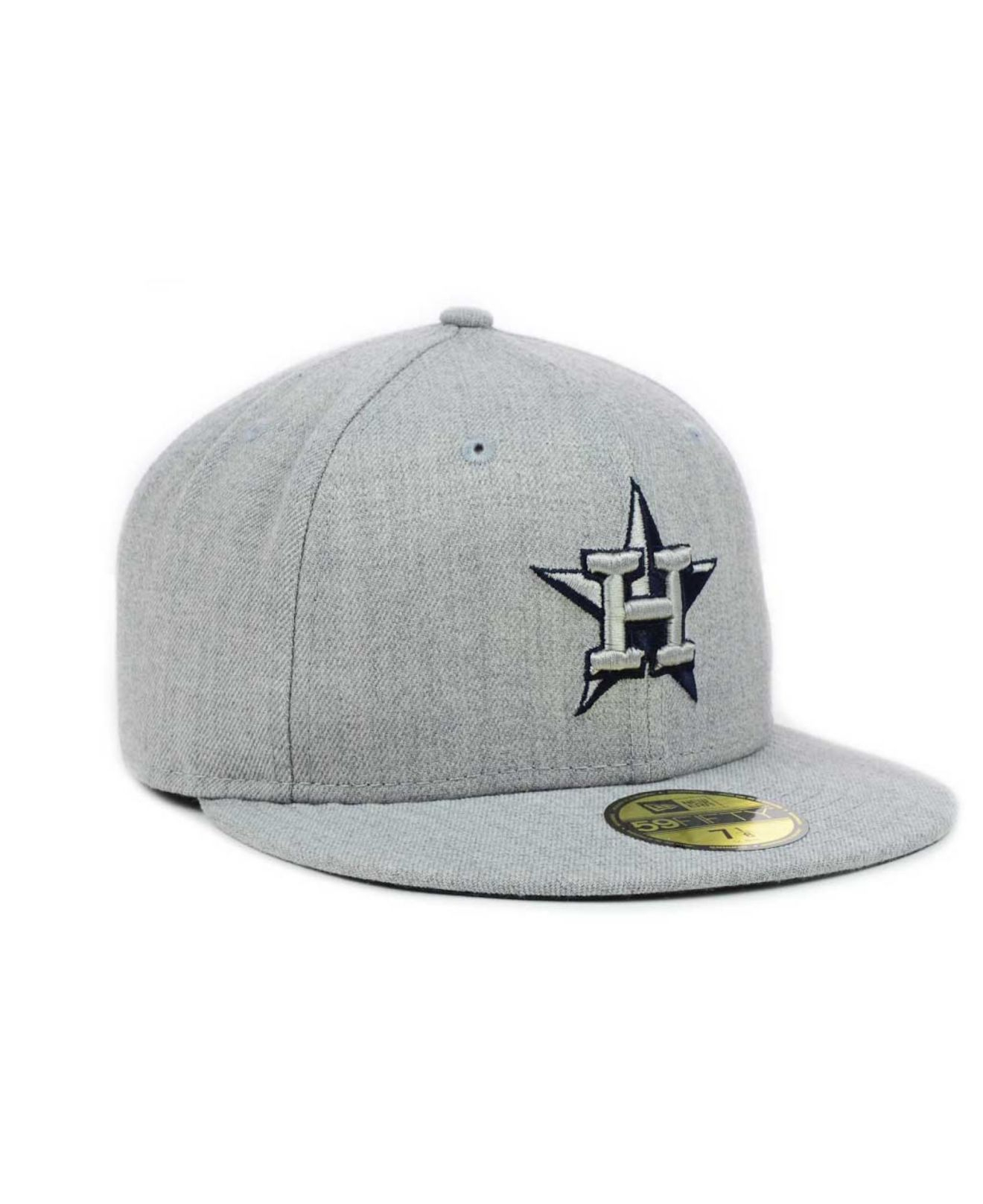 sports shoes 12e20 f2cd6 ... good lyst ktz houston astros mlb heather basic 59fifty cap in gray for  men 01993 d6e48