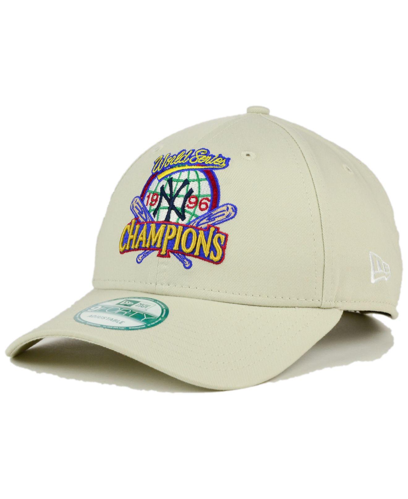 Lyst - KTZ New York Yankees 1996 World Series Champ Anniversary 9forty Cap  in Natural for Men cf7e63c91e8
