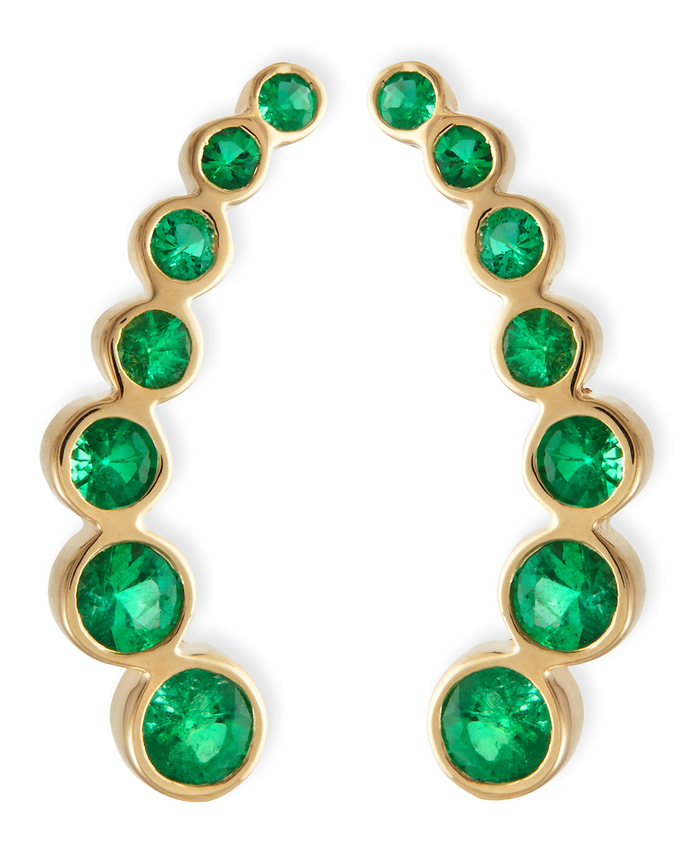 Permalink to Raw Emerald Earrings