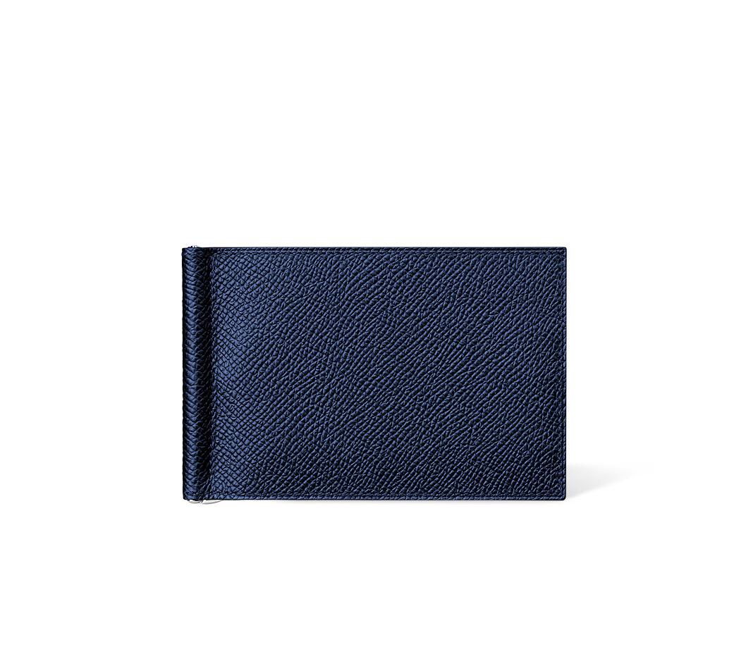 hermes travel wallet - hermes plume medium sapphire blue