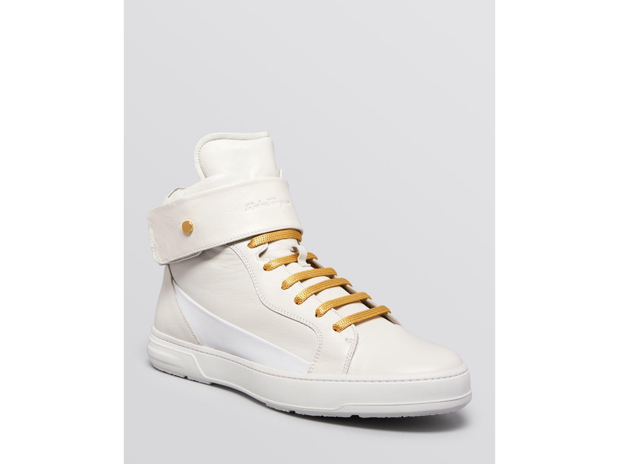 Gancini sneakers - White Salvatore Ferragamo Xb48evtQ