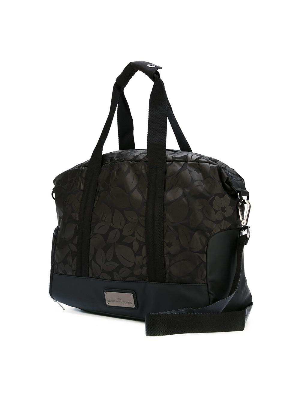 Adidas By Stella Mccartney Small Gym Bag In Brown Lyst