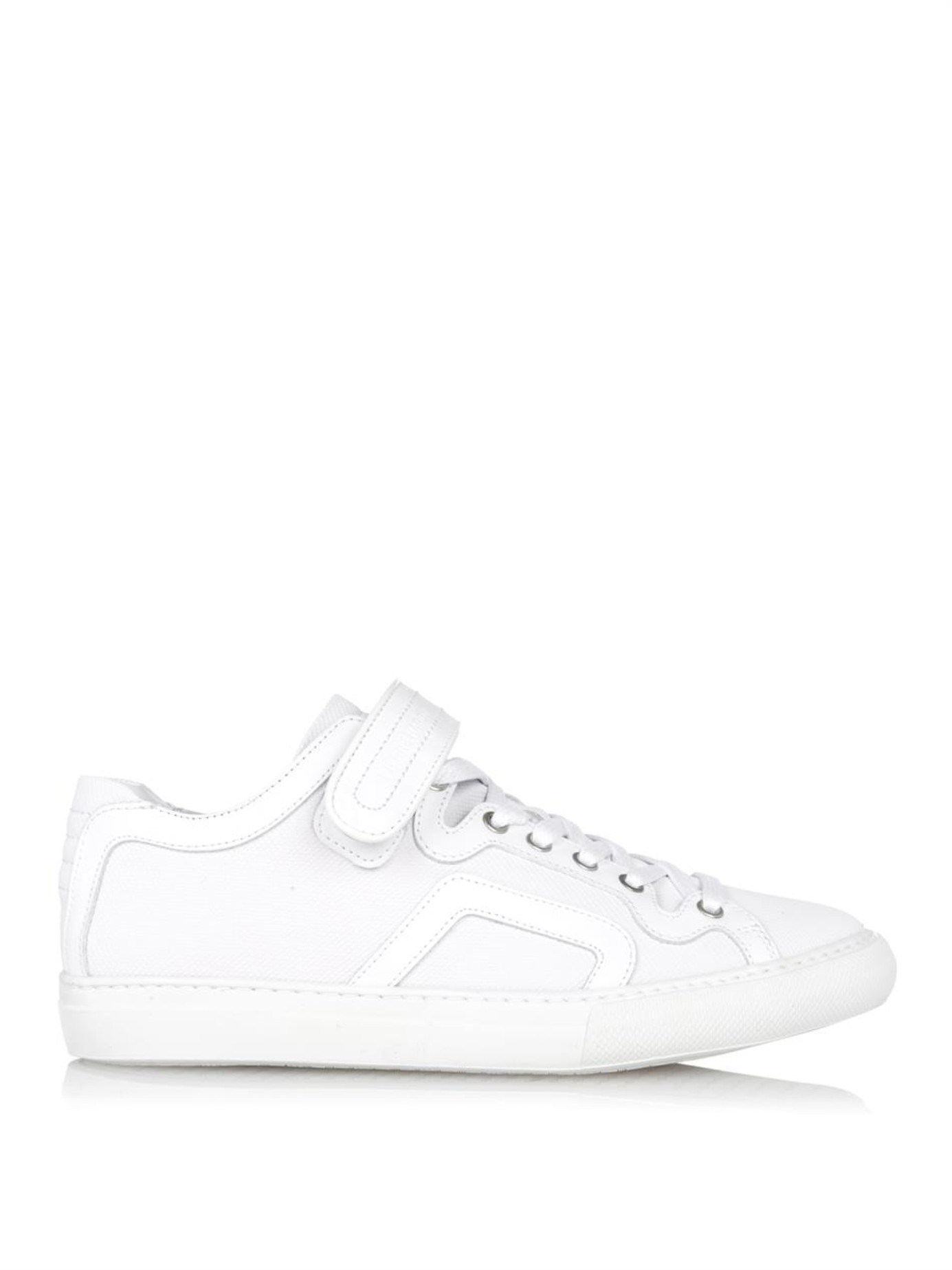 White Strap Sneakers Pierre Hardy