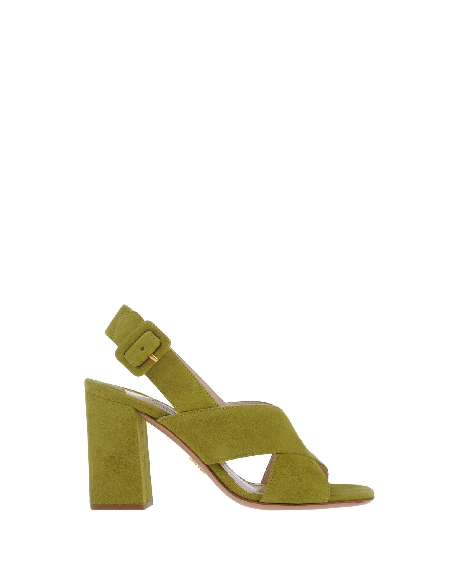 e3d4e57c2d71 Prada Sandals in Green (Acid green)