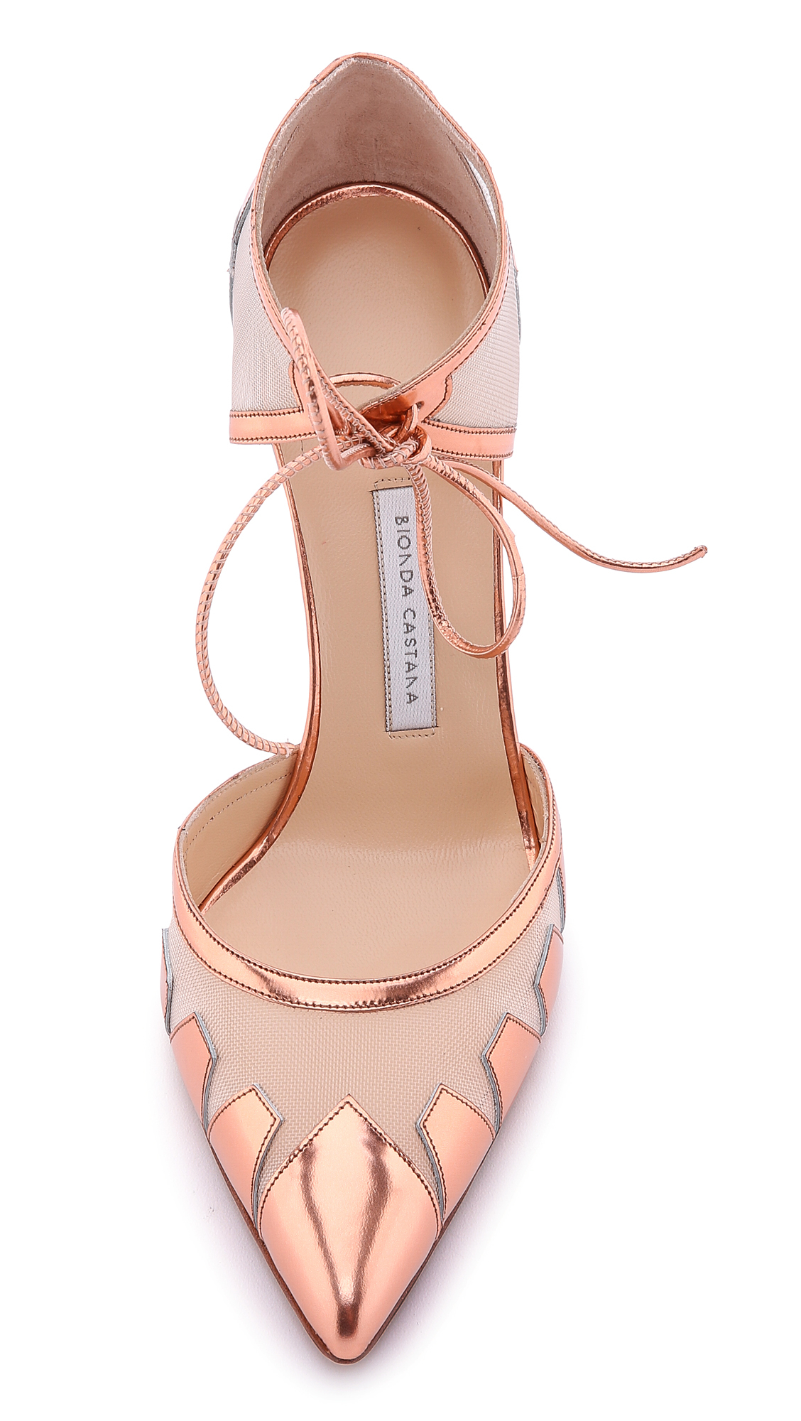 Rose Gold Colored Heels