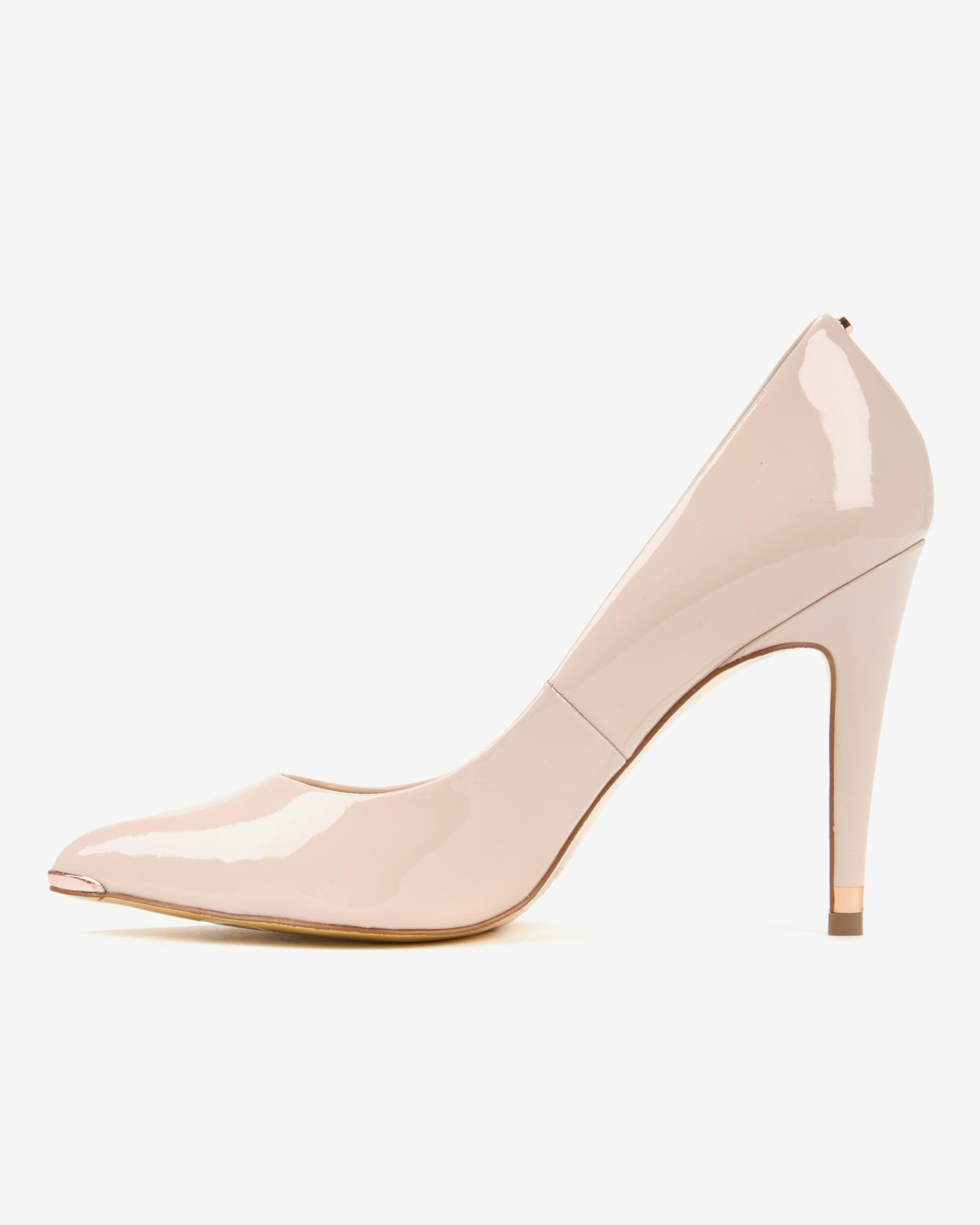 Pink Court Heels
