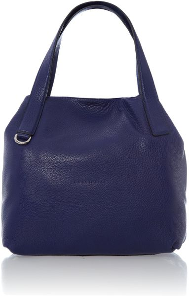 Coccinelle Mila Blue Small Hobo Bag in Blue