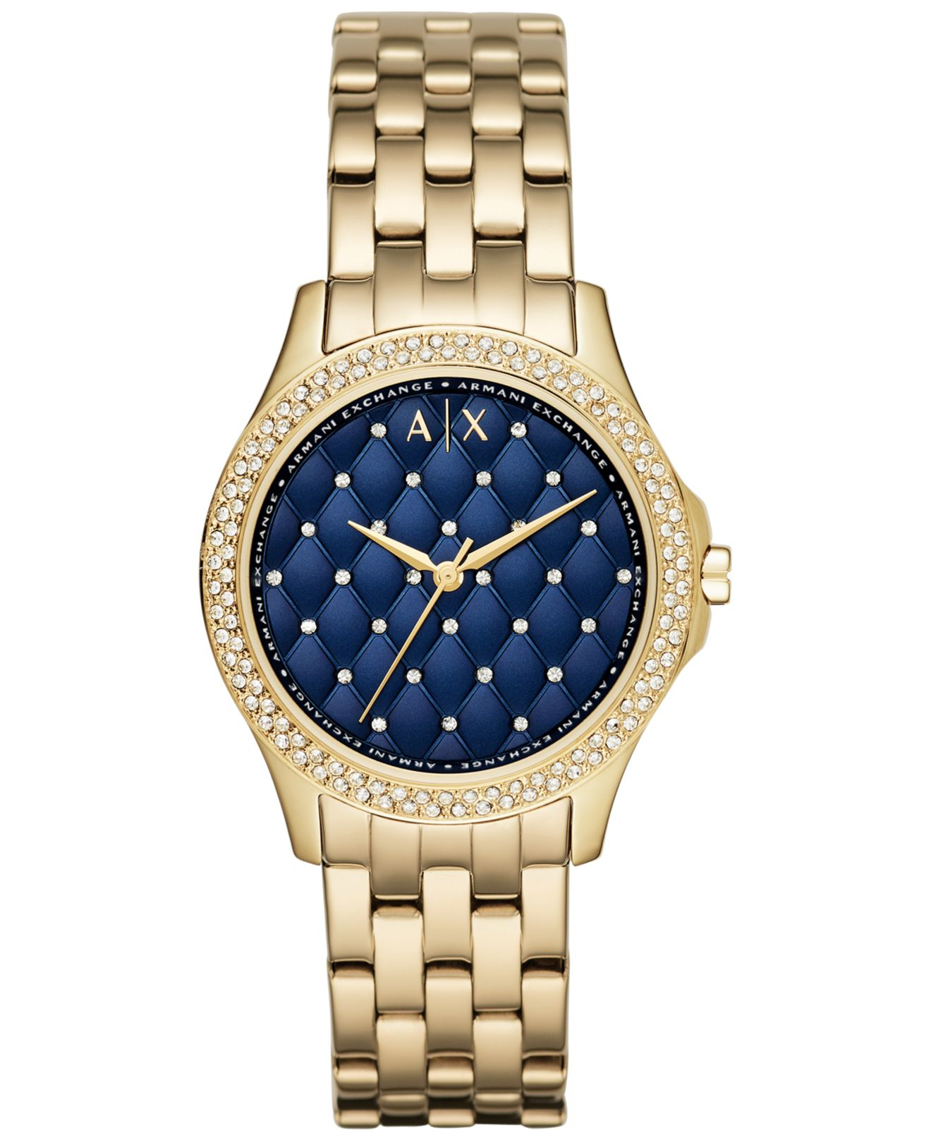 2019 year style- Exchange Armani watches for women gold pictures