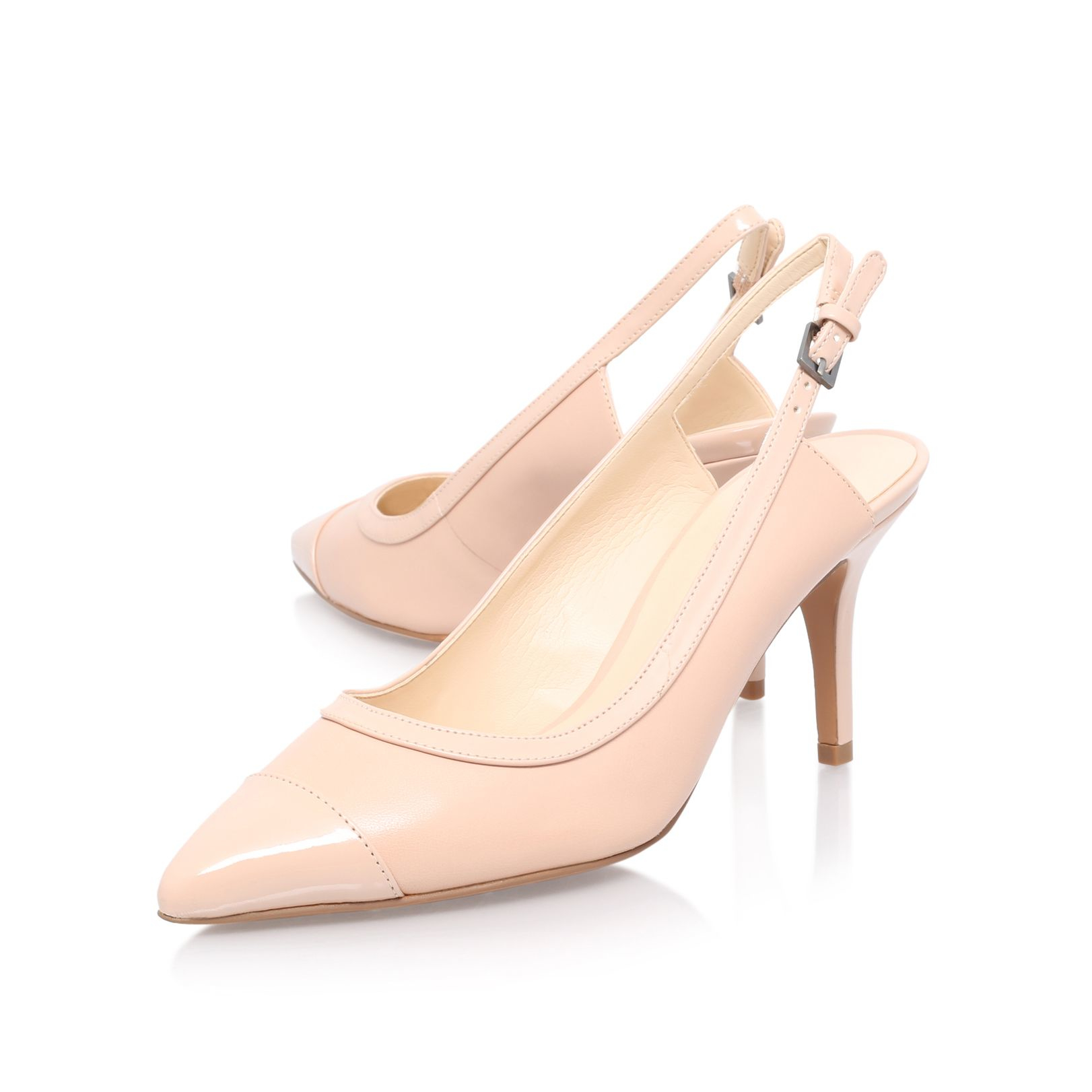 Slingback Nude Heels