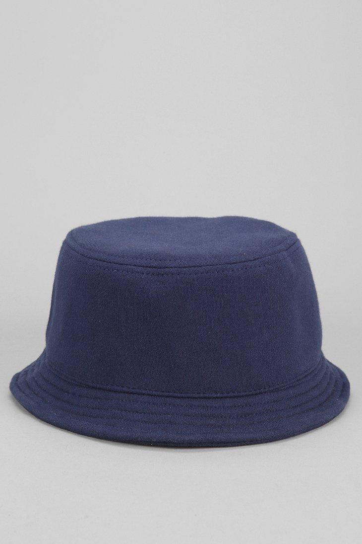 Lyst - Urban Outfitters Fleece Bucket Hat in Blue for Men 4eaa163aa86