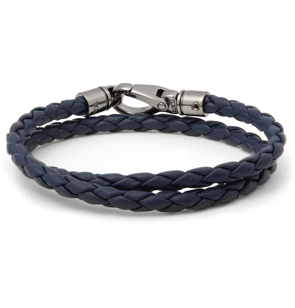 Tod's Leather Bracelet EMbaVsI