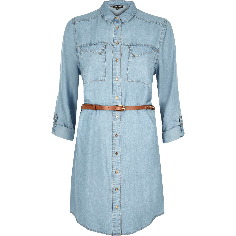 Find light blue denim shirt from a vast selection of Clothing for Men. Get great deals on eBay!