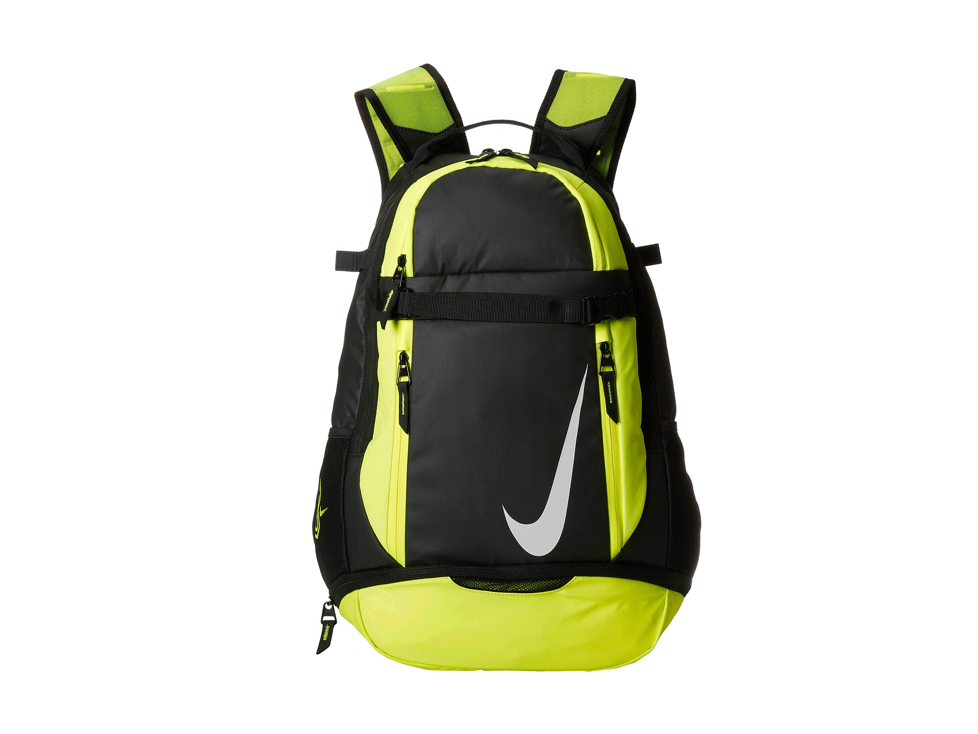lyst nike vapor elite backpack in green