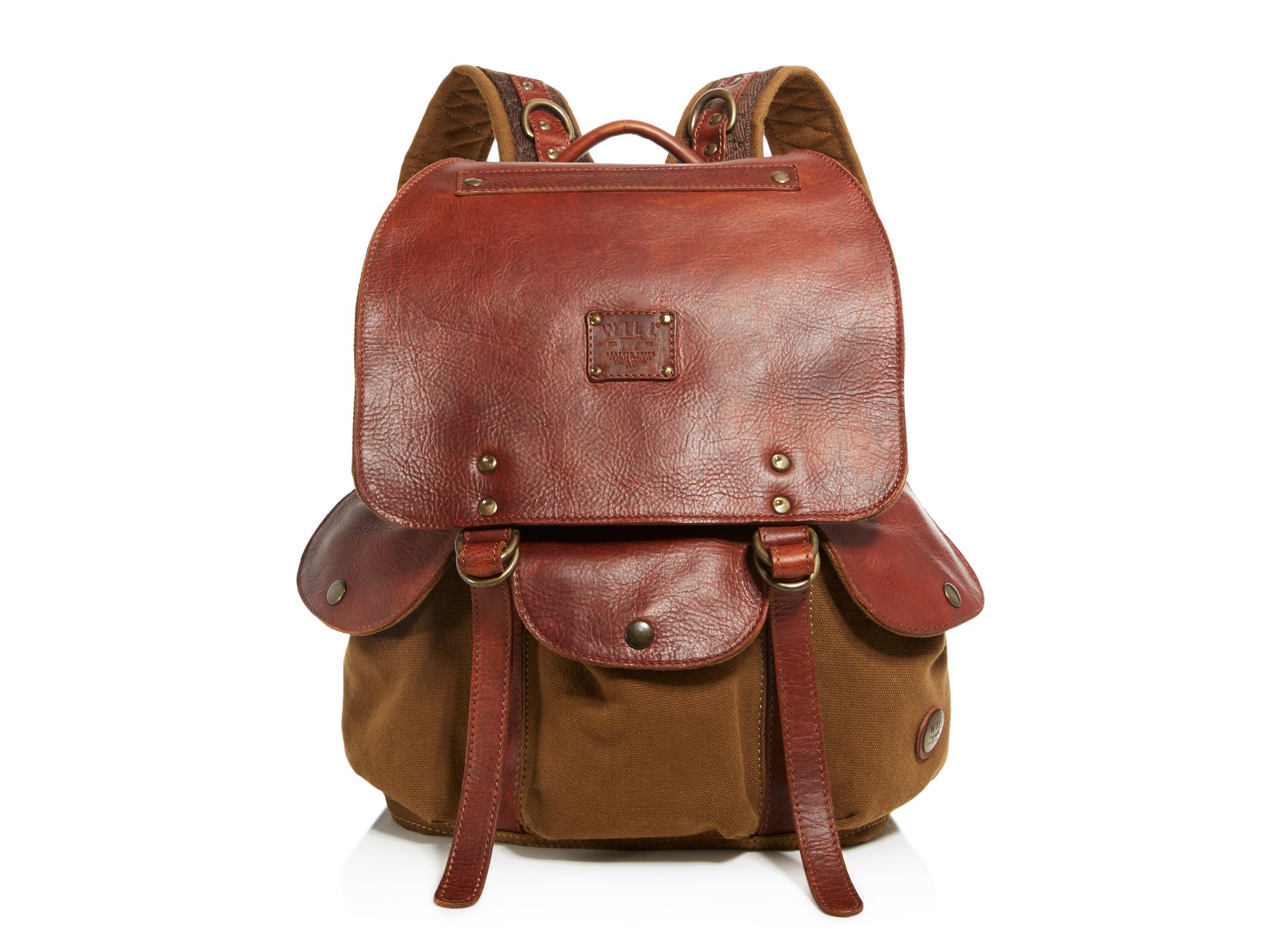 Will leather goods Lennon Backpack in Brown for Men | Lyst