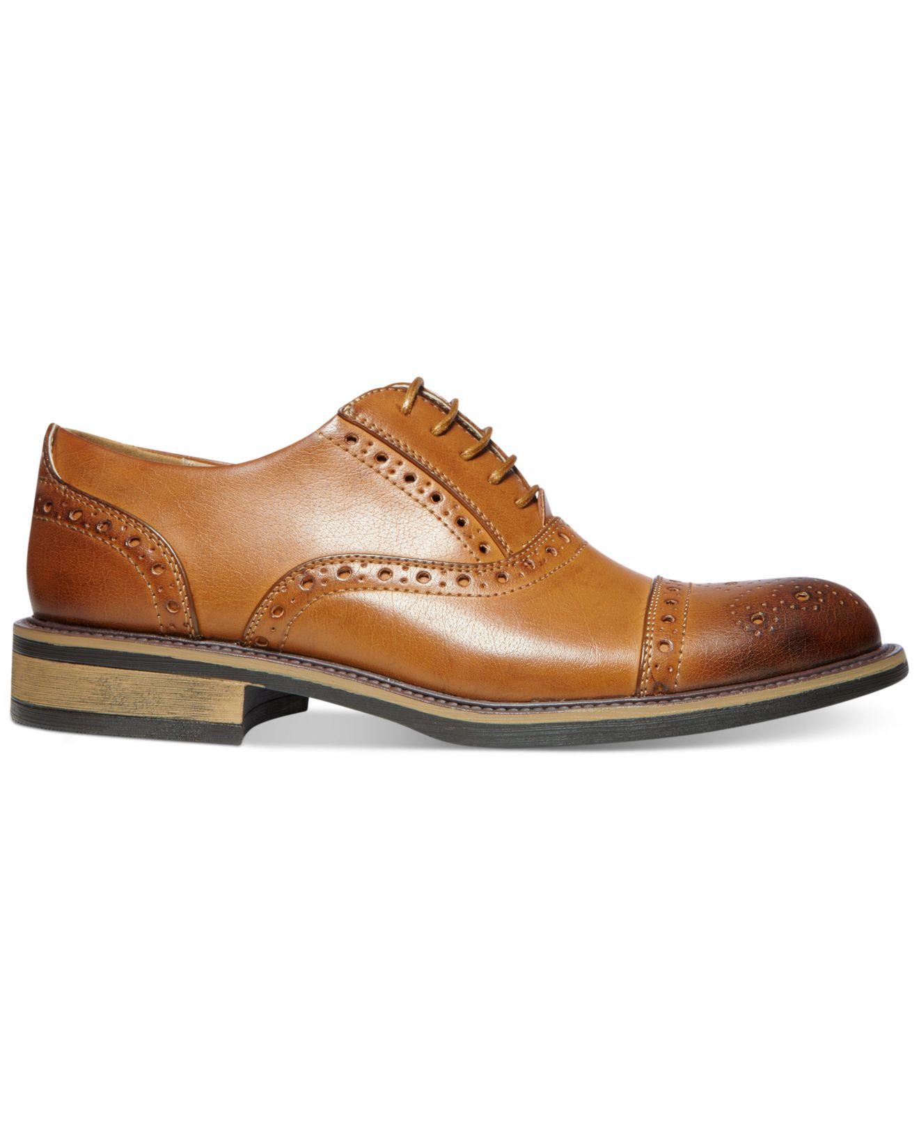Steve Madden Goody Leather Cap Toe Oxford v7ZLX