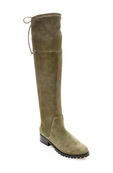 Blondo 'snow' Over The Knee Waterproof Boot in Green | Lyst