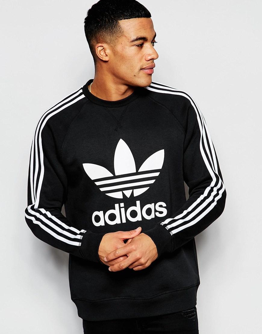 Lyst Trefoil Men Black Sweatshirt Originals Adidas For Ap8988 In gHxEqrgwBn