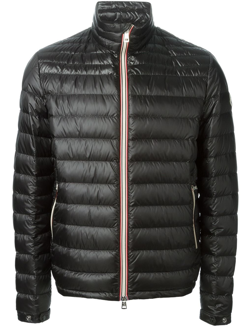 moncler 39 daniel 39 padded jacket in black for men lyst. Black Bedroom Furniture Sets. Home Design Ideas