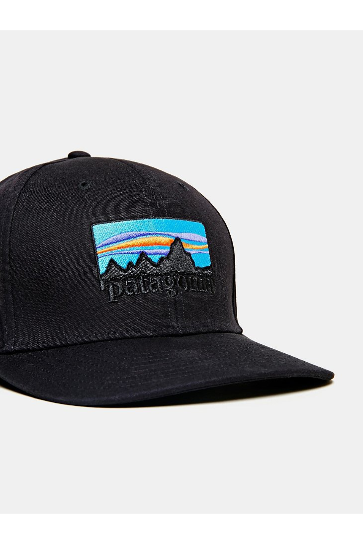 093a72545f Patagonia 73 Logo Roger That Hat in Black for Men - Lyst