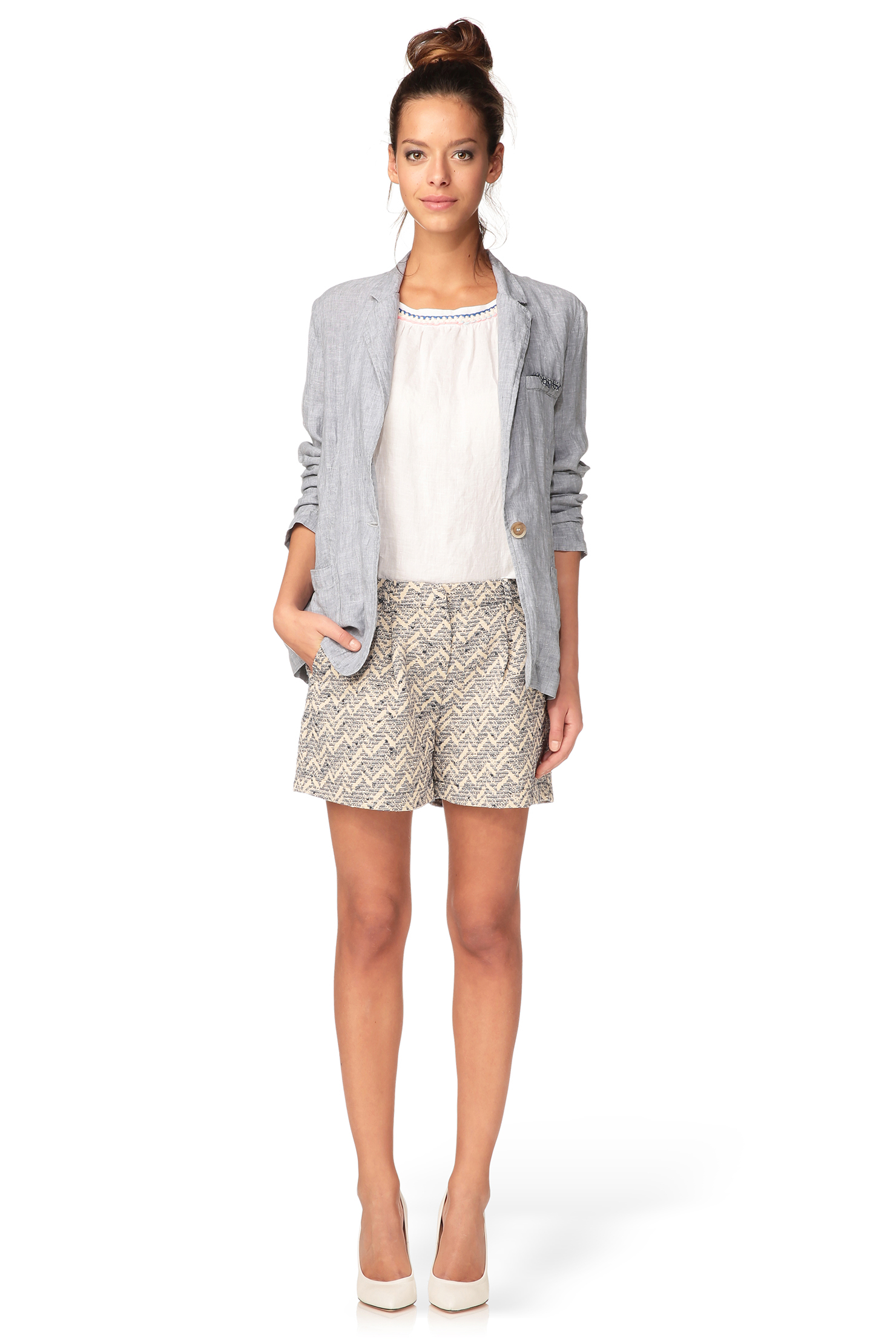 0039 italy blazer in blue lyst for 0039 mobili