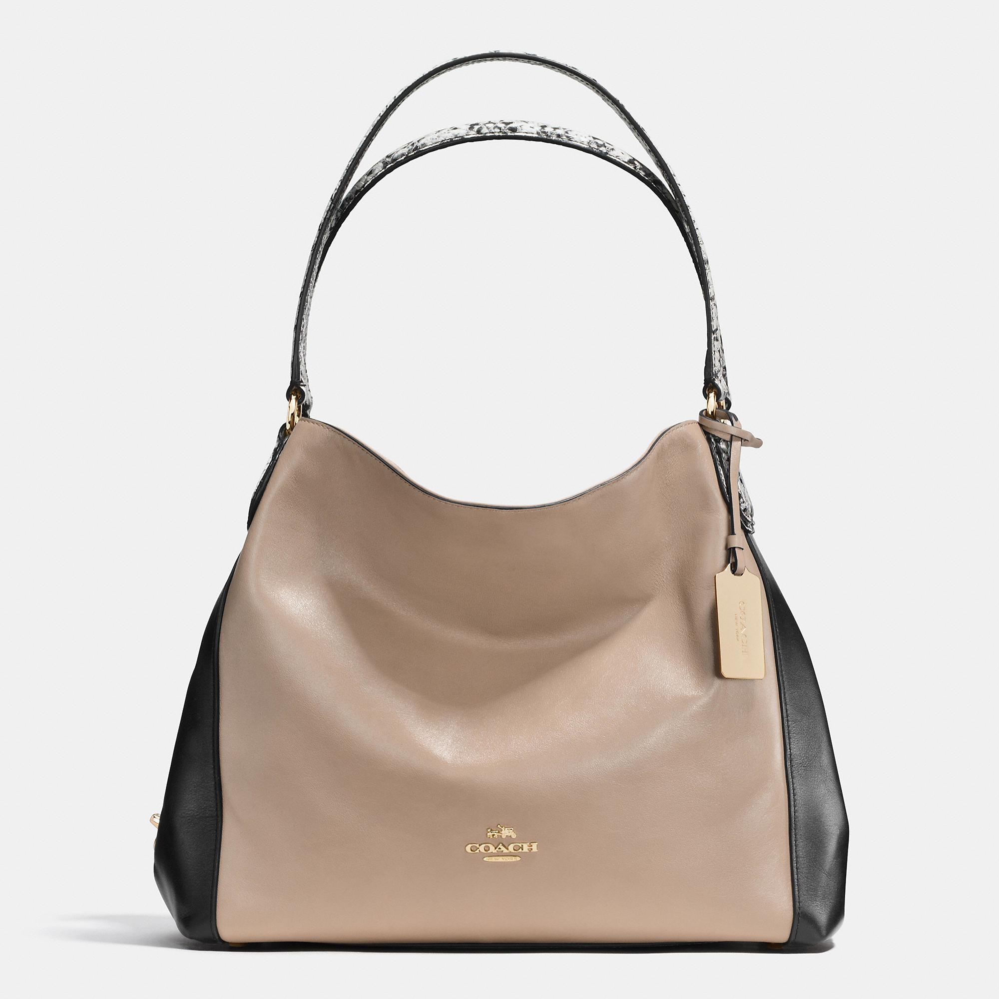 fe241f9e48 5be2d 5d8c6  uk bag in black lyst womens coach edie . 16fcb a7b9a