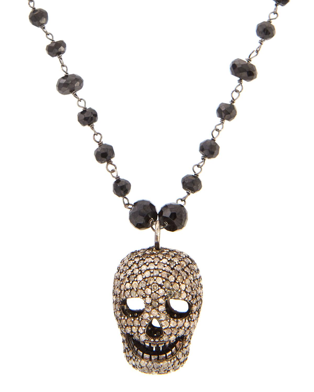 Bavna Diamond Pavé Wing Pendant Necklace s4fSDsLh