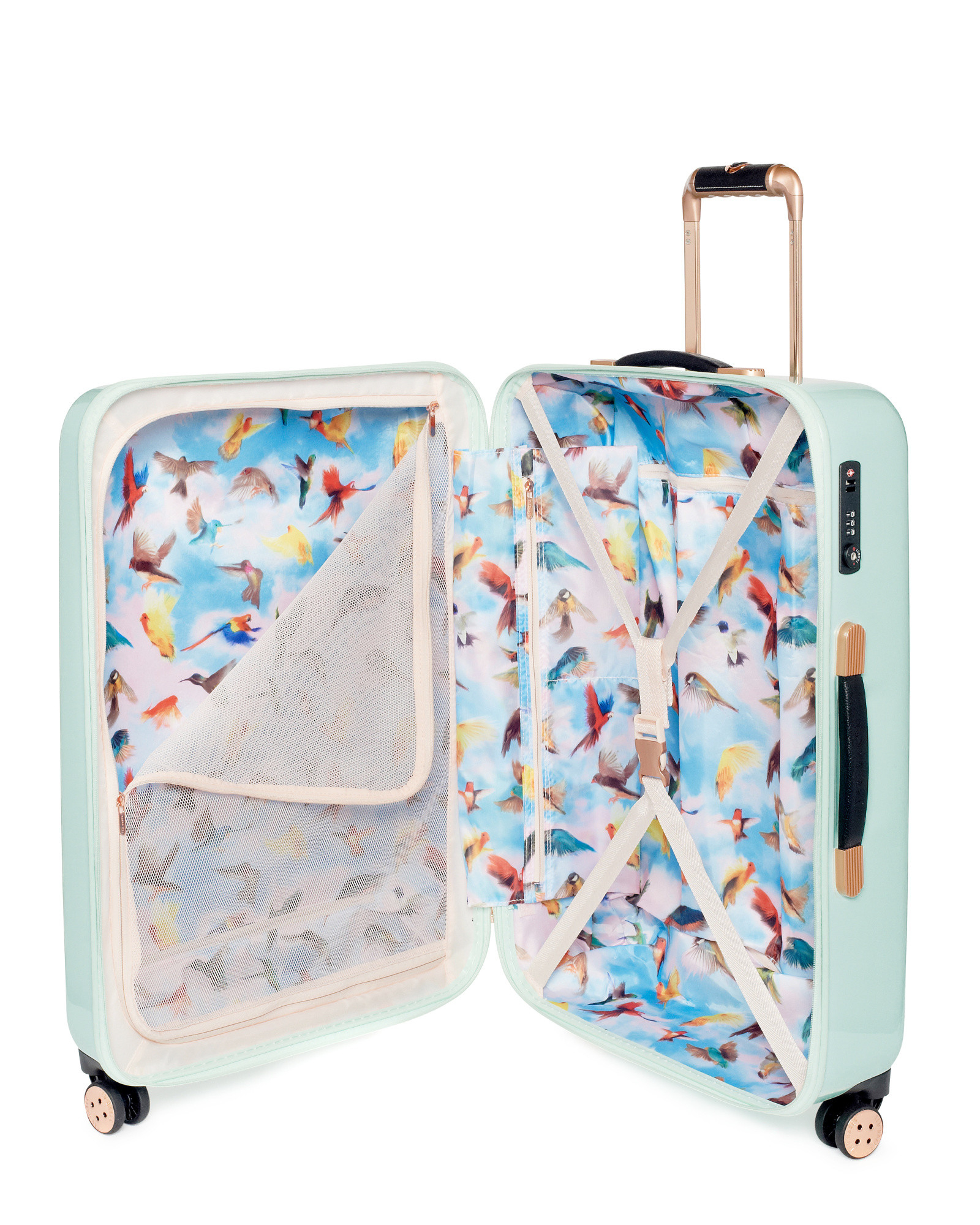 Ted Baker Medium Sugar Sweet Floral Suitcase Lyst