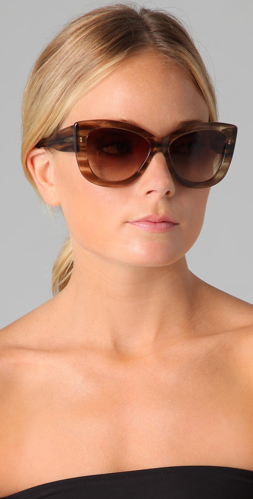 da86334afef Lyst - DITA Vesoul Sunglasses in Brown