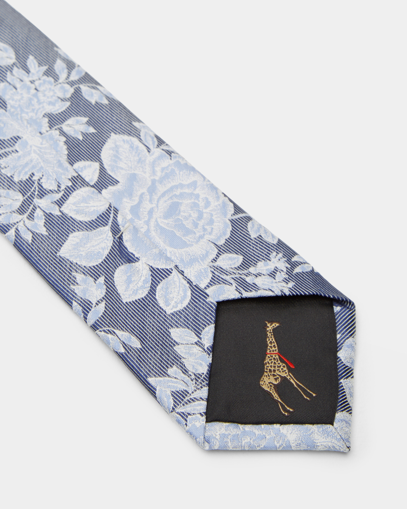 033c5fbf3e4b Lyst ted baker floral jacquard silk tie in blue for men jpg 1600x2000 Ted  baker ties