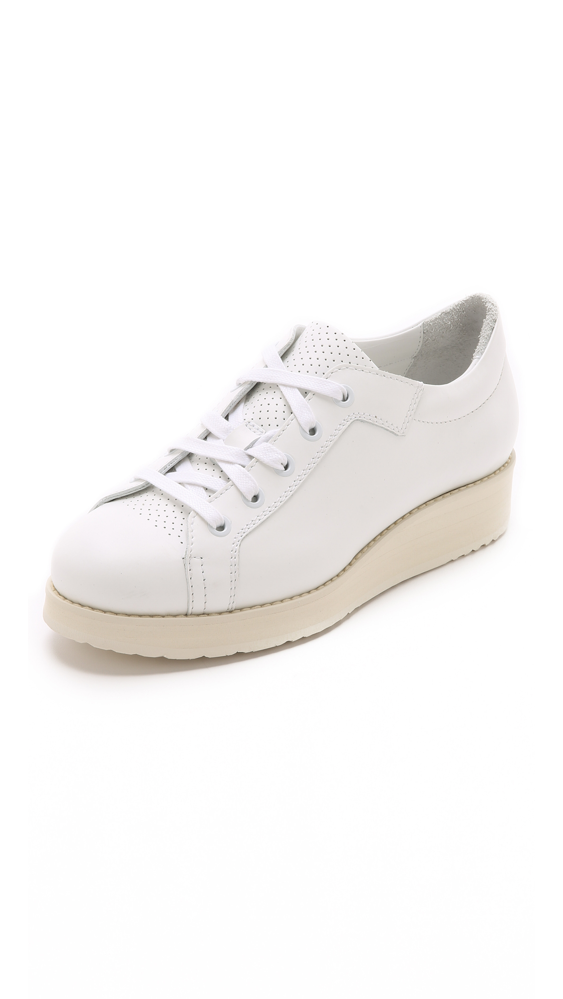 Acne Shoes White