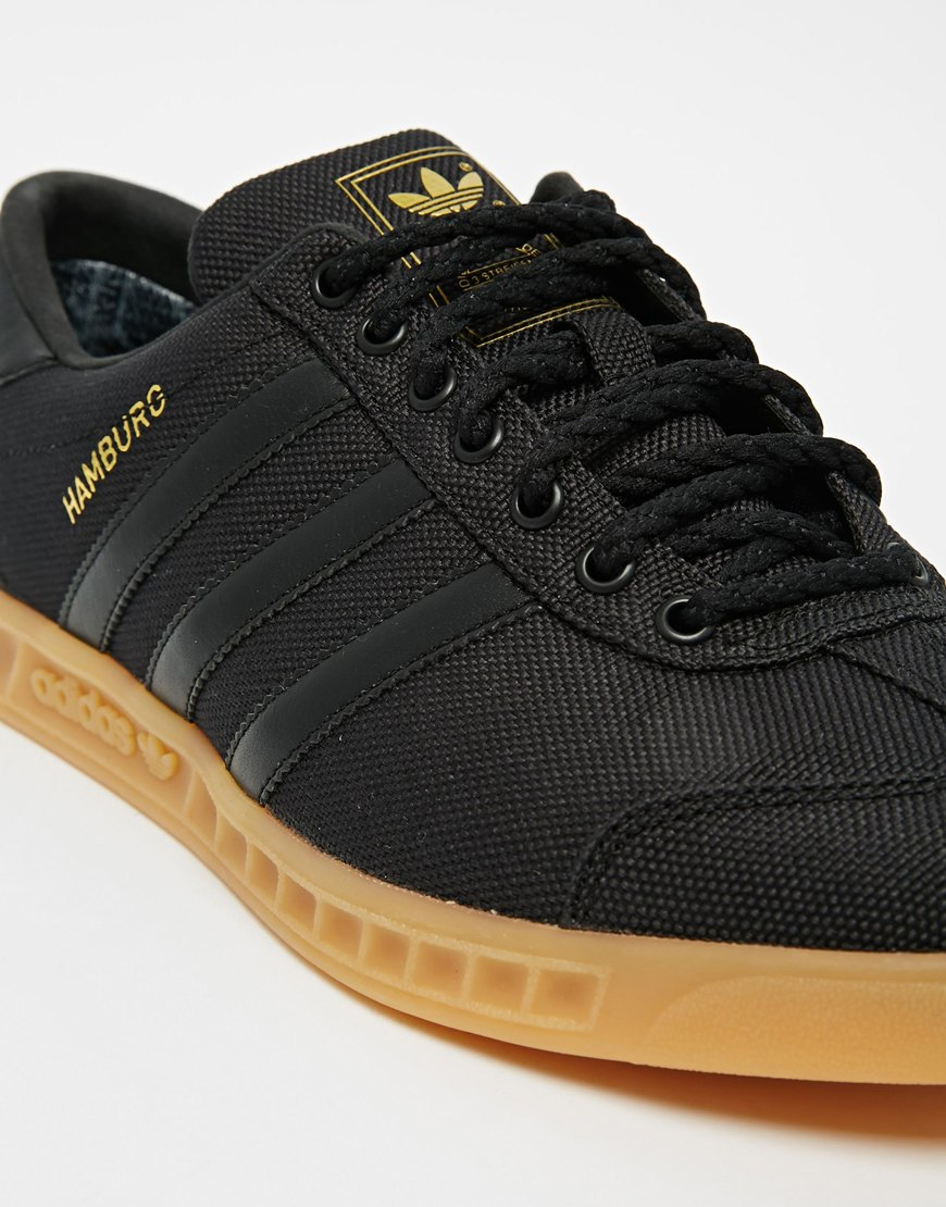 adidas hamburg shoes black