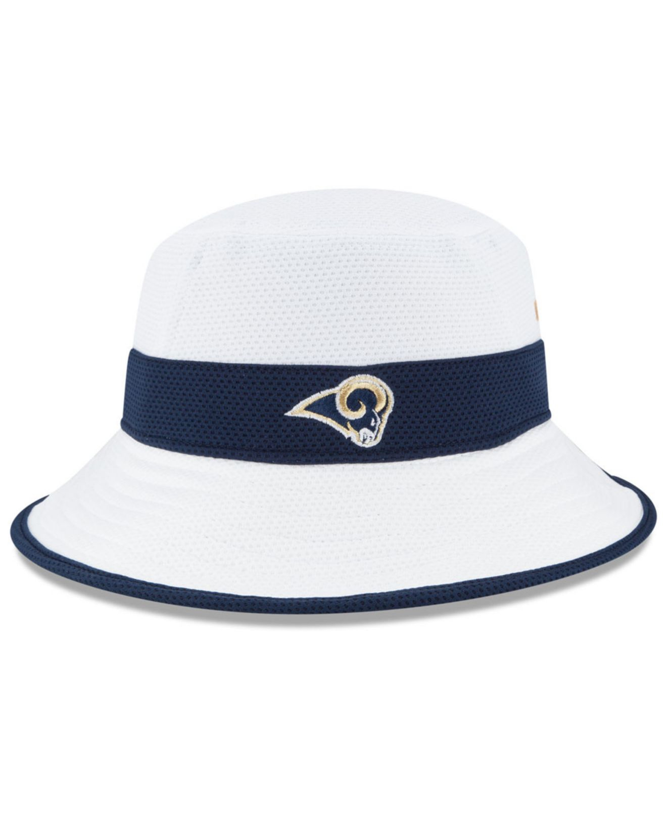 Lyst - KTZ Los Angeles Rams Training Camp Reverse Bucket Hat in ... 2f14a3aff6a